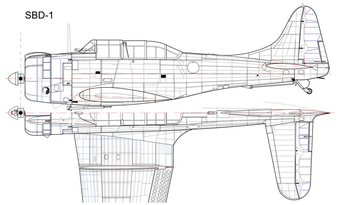 Sbd dauntless from scratch page 2 ww2aircraft forums 0010 01g malvernweather Choice Image