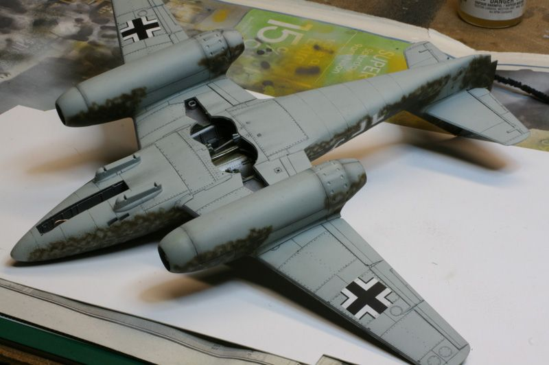 **** DONE 1/48 Tamiya Me 262 A-2 Heavy Hitters Group Build-091227-underside.jpg
