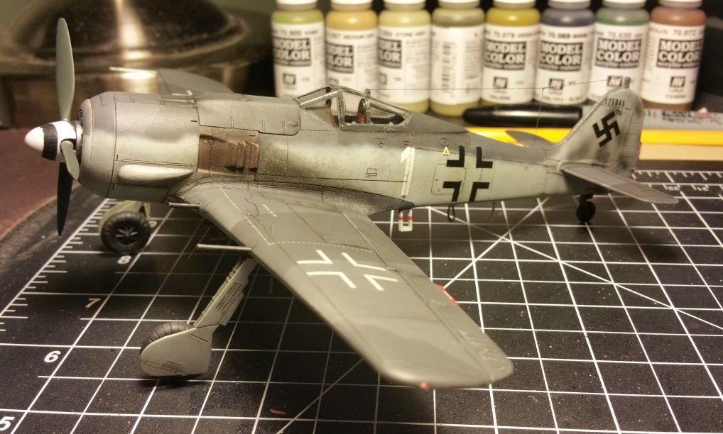1//48 Otaki Focke-Wulf Fw 190A-8 Model Kit #OT2-26