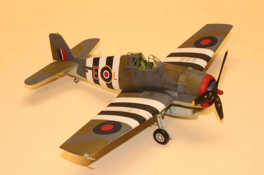1st PLACE EXPERT and  MEMBERS CHOICE: 1/48 Hellcat Mk I JV-131 No 800 Sqn HMS Emperor-100412-2-oclock.jpg