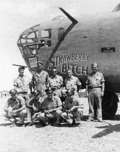 "Consolidated B-24D Liberator, ""Strawberry Bitch"", 512 BS, Libya 1943 Group Build-2845167840_66dc339774-jpg"