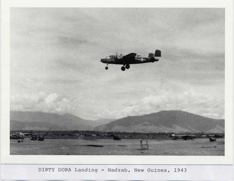 "**** DONE: 1/48 B-25C 41-12971 345th BG 499th BS ""Dirty Dora"" , Heavy Hitters GB-3-dora-landing-resized.jpg"