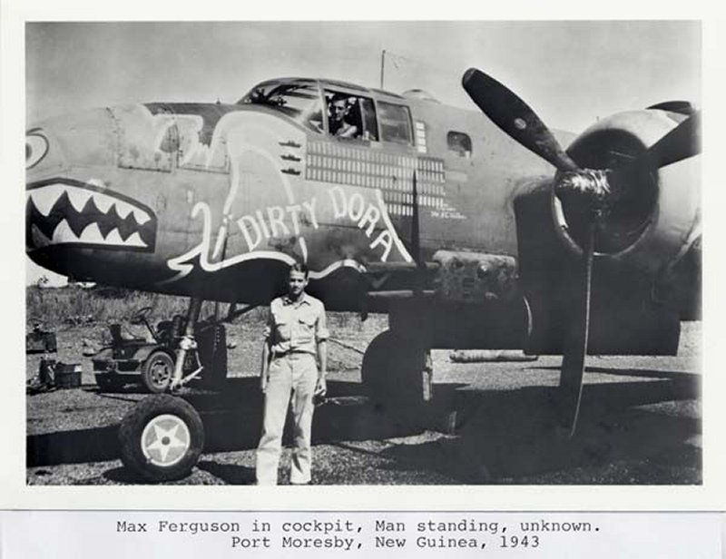 "**** DONE: 1/48 B-25C 41-12971 345th BG 499th BS ""Dirty Dora"" , Heavy Hitters GB-4-max-ferguson-resized.jpg"