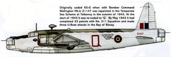 vickers wellington bomber