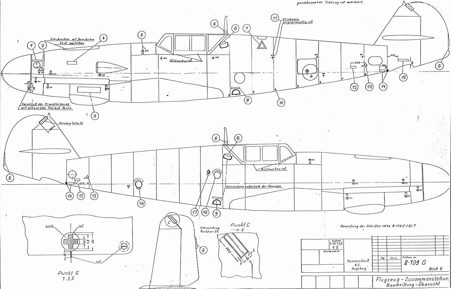 Messerschmitt 109 Improvements