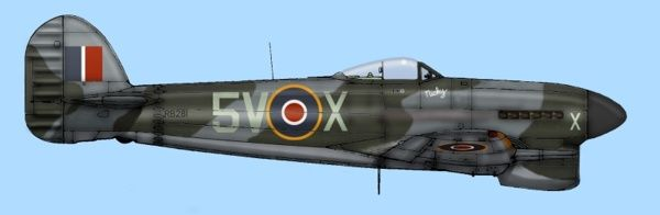 Typhoon mk1b 439 rcaf squadron ww2aircraft forums however i have no information on whether the aircraft was a later one with 4 blade propeller and larger tail services with the smaller exhaustssorry for thecheapjerseys Choice Image