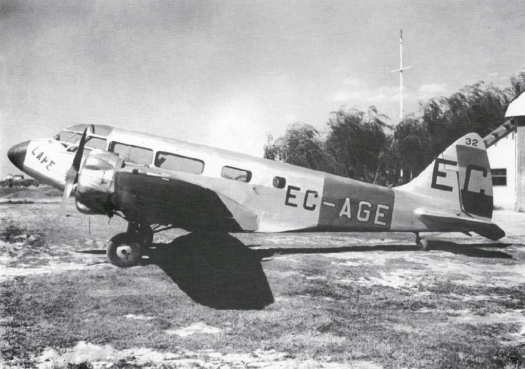 Spanish Civil War: Republican Air Force (FARE)-airspeed-6-envoy-jpg