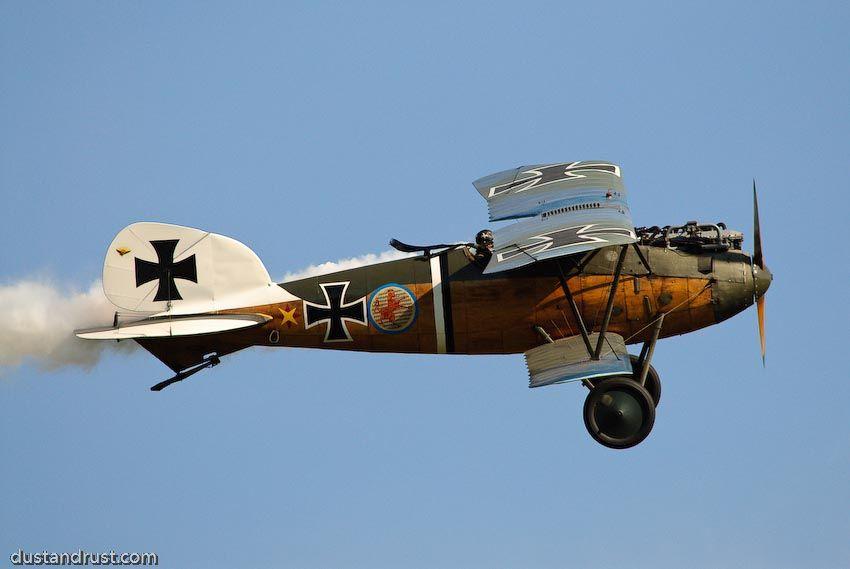 1916 Albatros D Iii Length 7 33 M Span 9 05