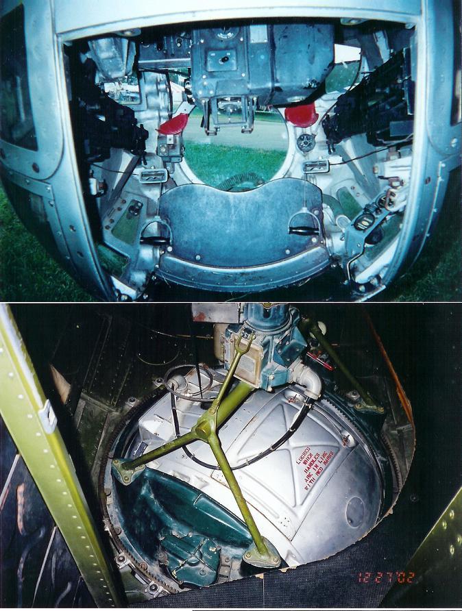 -17 jpg  B17 Bomber Ball Turret