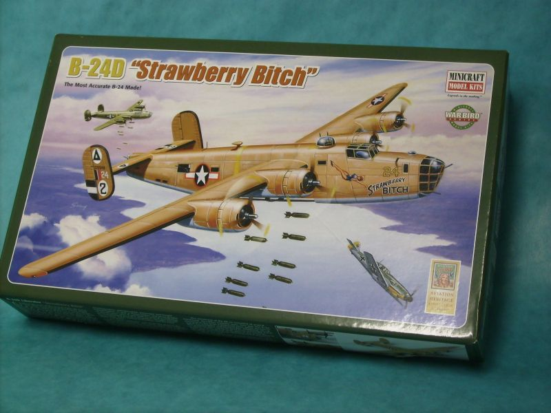 "Consolidated B-24D Liberator, ""Strawberry Bitch"", 512 BS, Libya 1943 Group Build-b25-003-jpg"