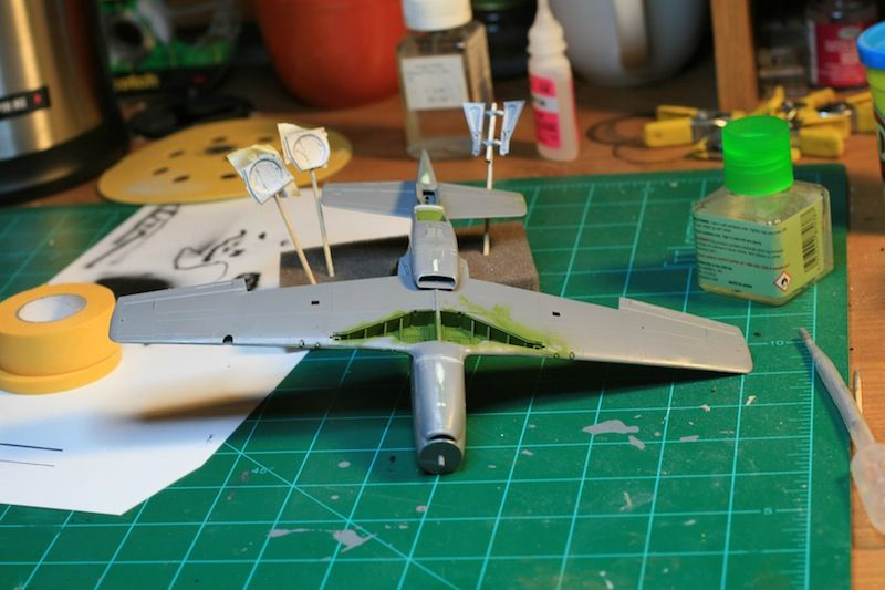 Tamiya 1/48 P-51B Build-belly-front.jpg