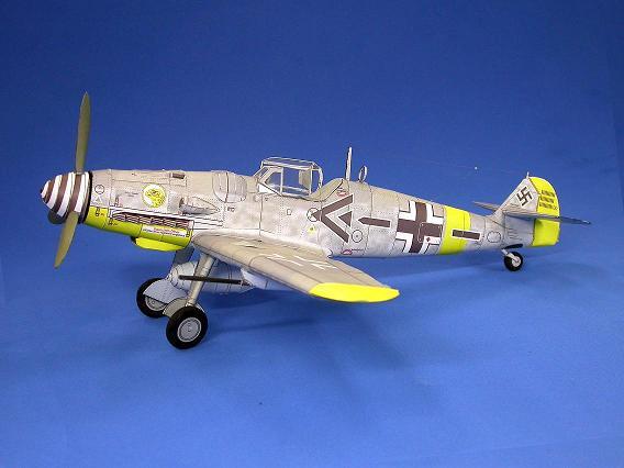 BF 109 Paper Model 1/33-bf1091-jpg