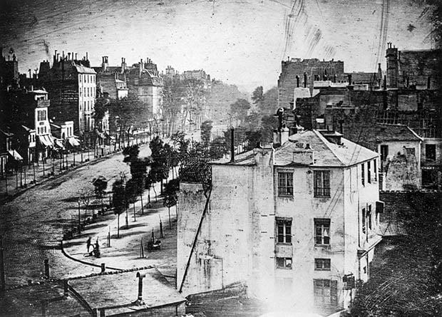 First Ever Photograph of a Human Being-boulevard-jpg