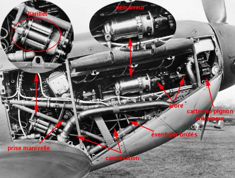 Spitfire Mk II   venting for Coffman Starter | Aircraft of World War