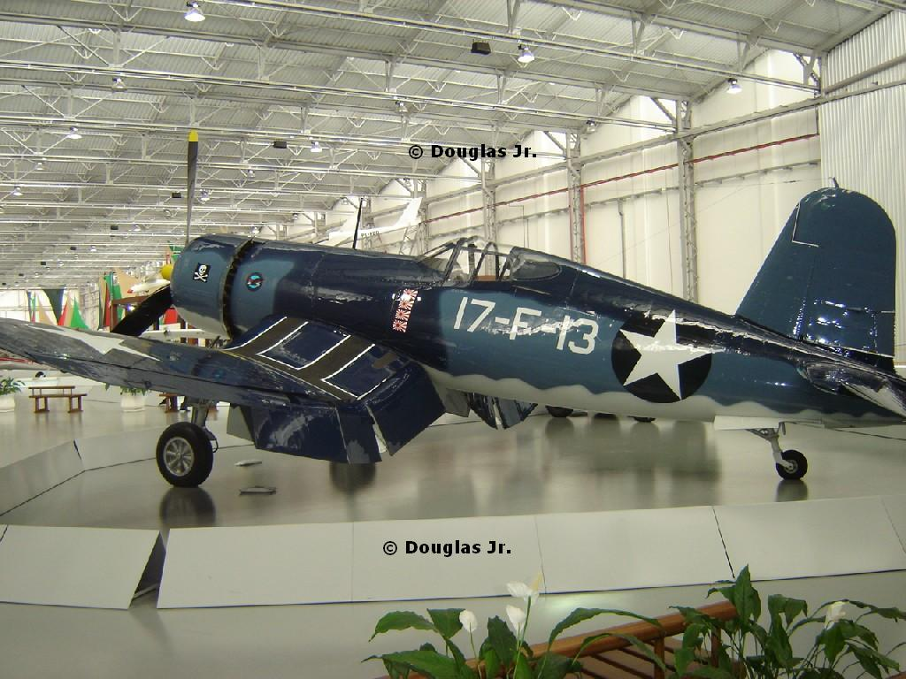 """Wings of a Dream"" - Brazilian Aviation Museum-corsair-2.jpg"