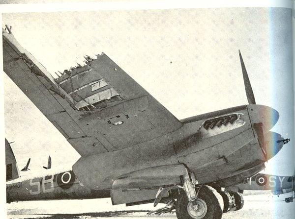 Battle Damaged Aircraft of WW2-damaged-mossie.jpg