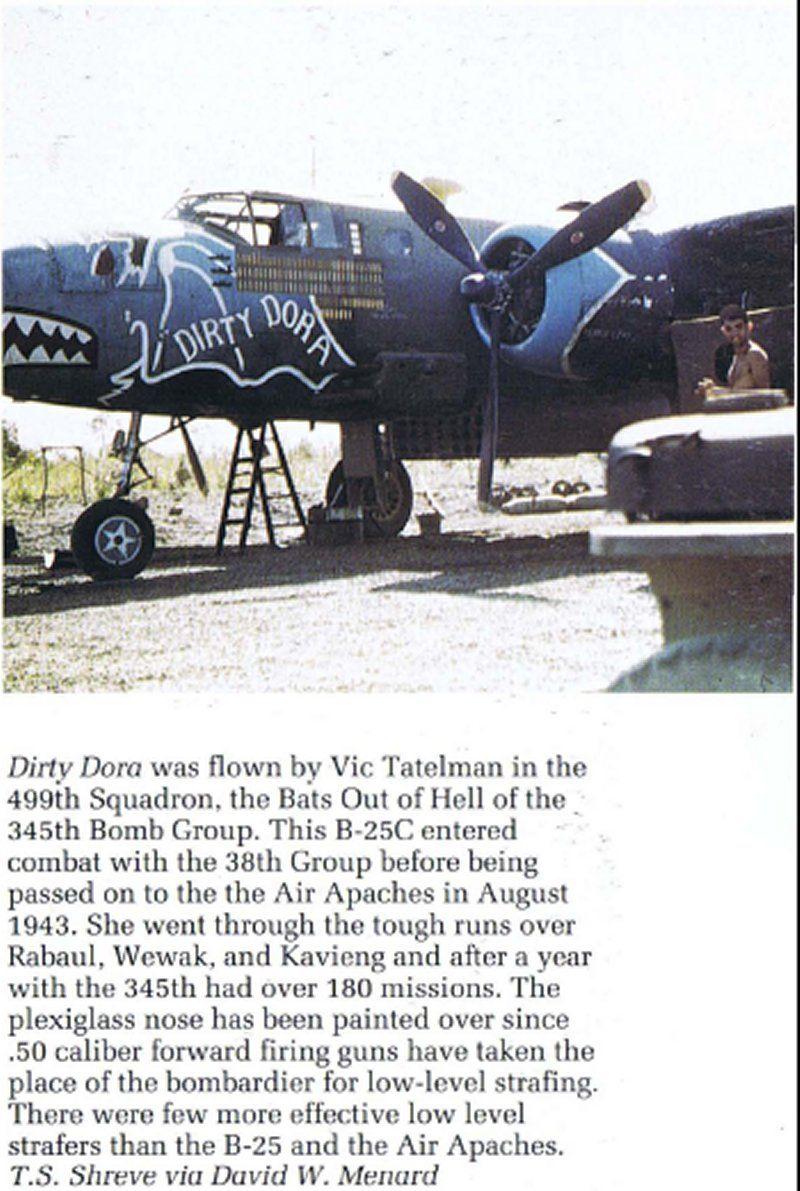 "**** DONE: 1/48 B-25C 41-12971 345th BG 499th BS ""Dirty Dora"" , Heavy Hitters GB-dora-pic-nose-art-ww2.jpg"