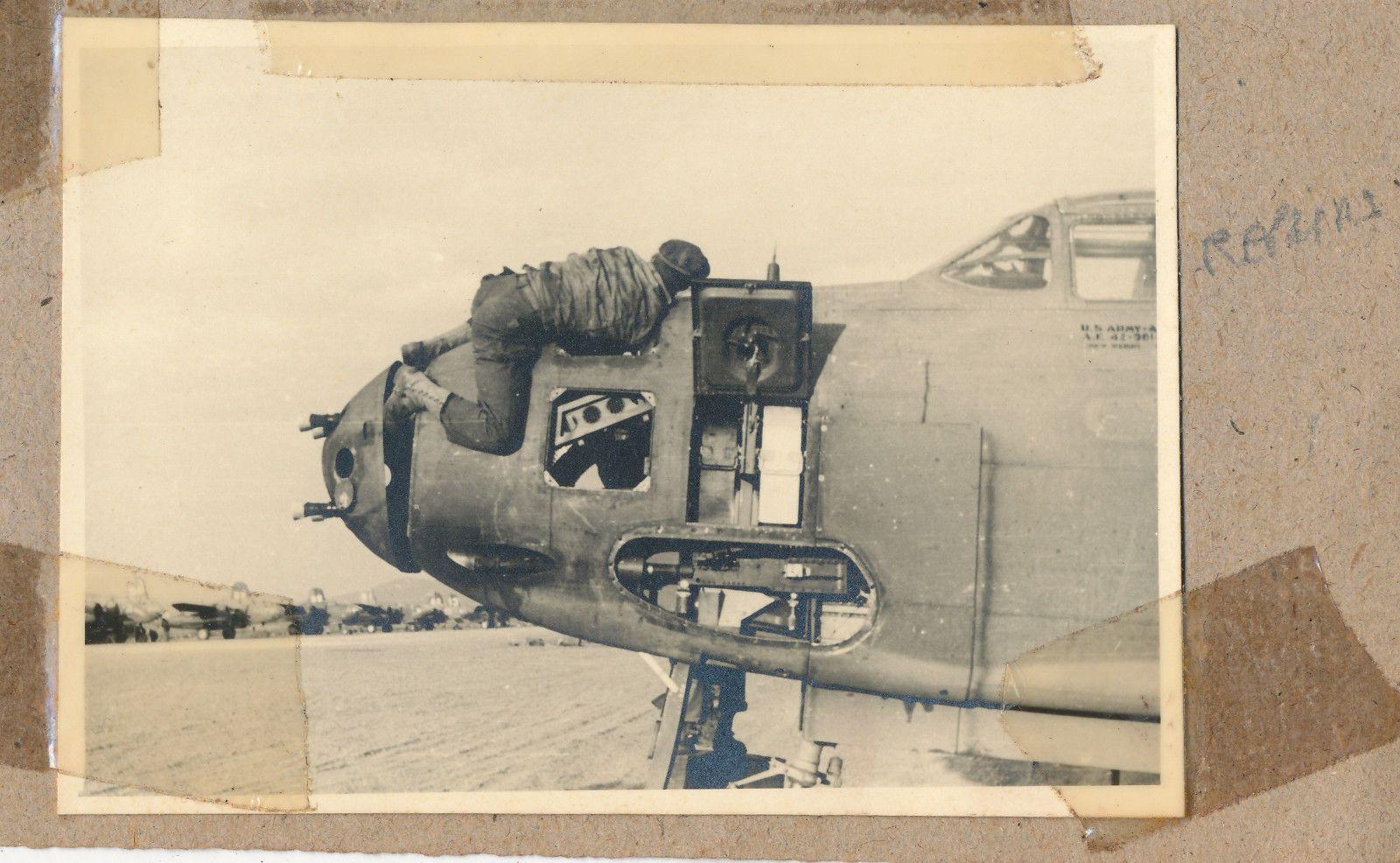Douglas A-20 Havoc_07_nose gun repair.jpg