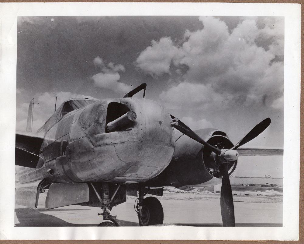 Douglas A-26 Invader_18_1946 USAAF A-26 Invader 75mm Gun Wright Field Ohio.jpg