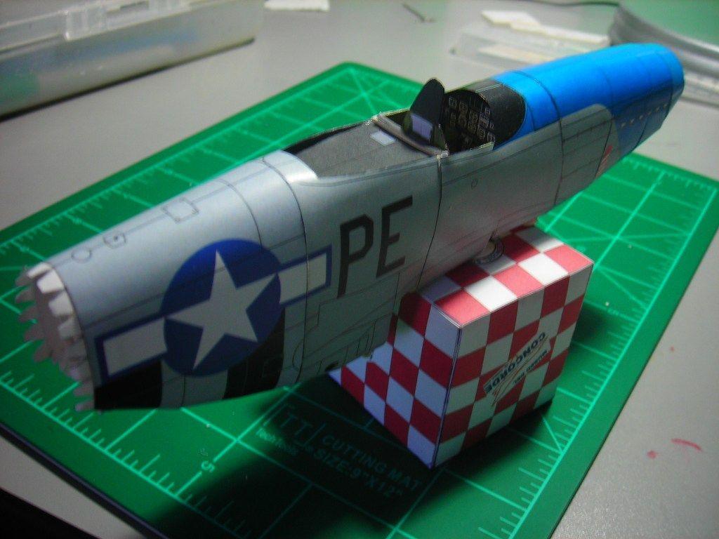BF 109 Paper Model 1/33-dscn2078-jpg