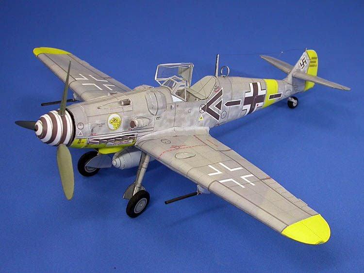 BF 109 Paper Model 1/33-dscn6451a-jpg