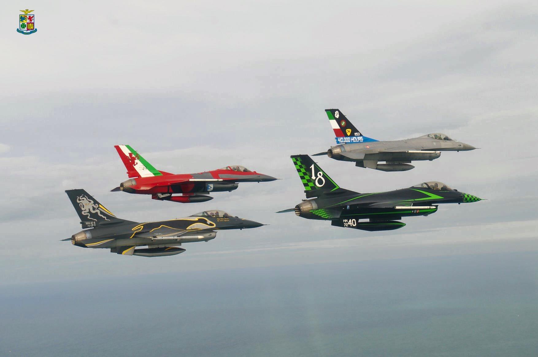 Italian F-16 special edition | Aircraft of World War II ...