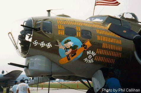 """Controversy over B-17G """"909"""" color -please comment-fake-909_159-jpg"""
