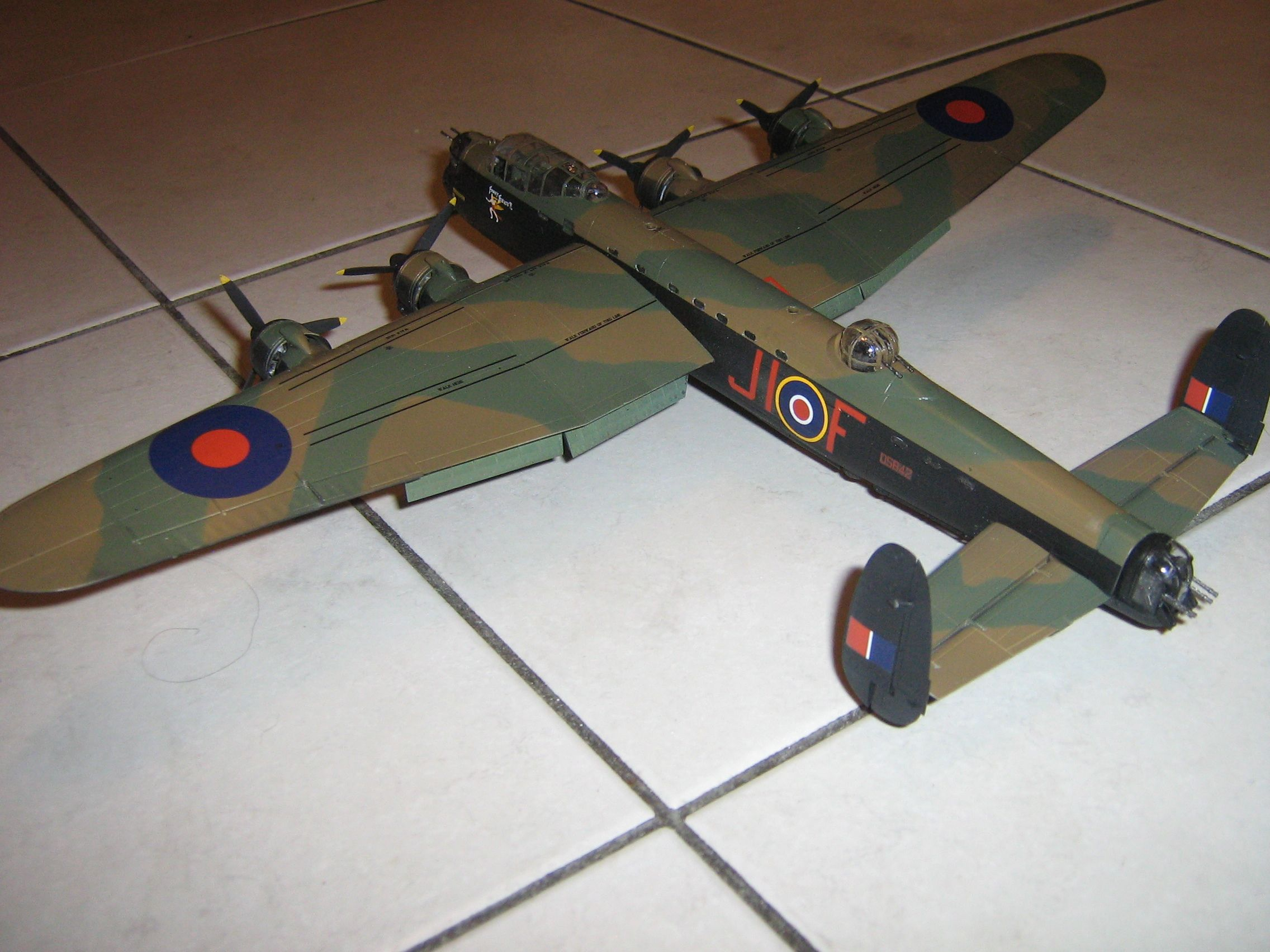 **** FINISHED: - 1/72 Avro Lancaster BII - Aircraft Nose Art GB.-finished-lancaster-2-jpg