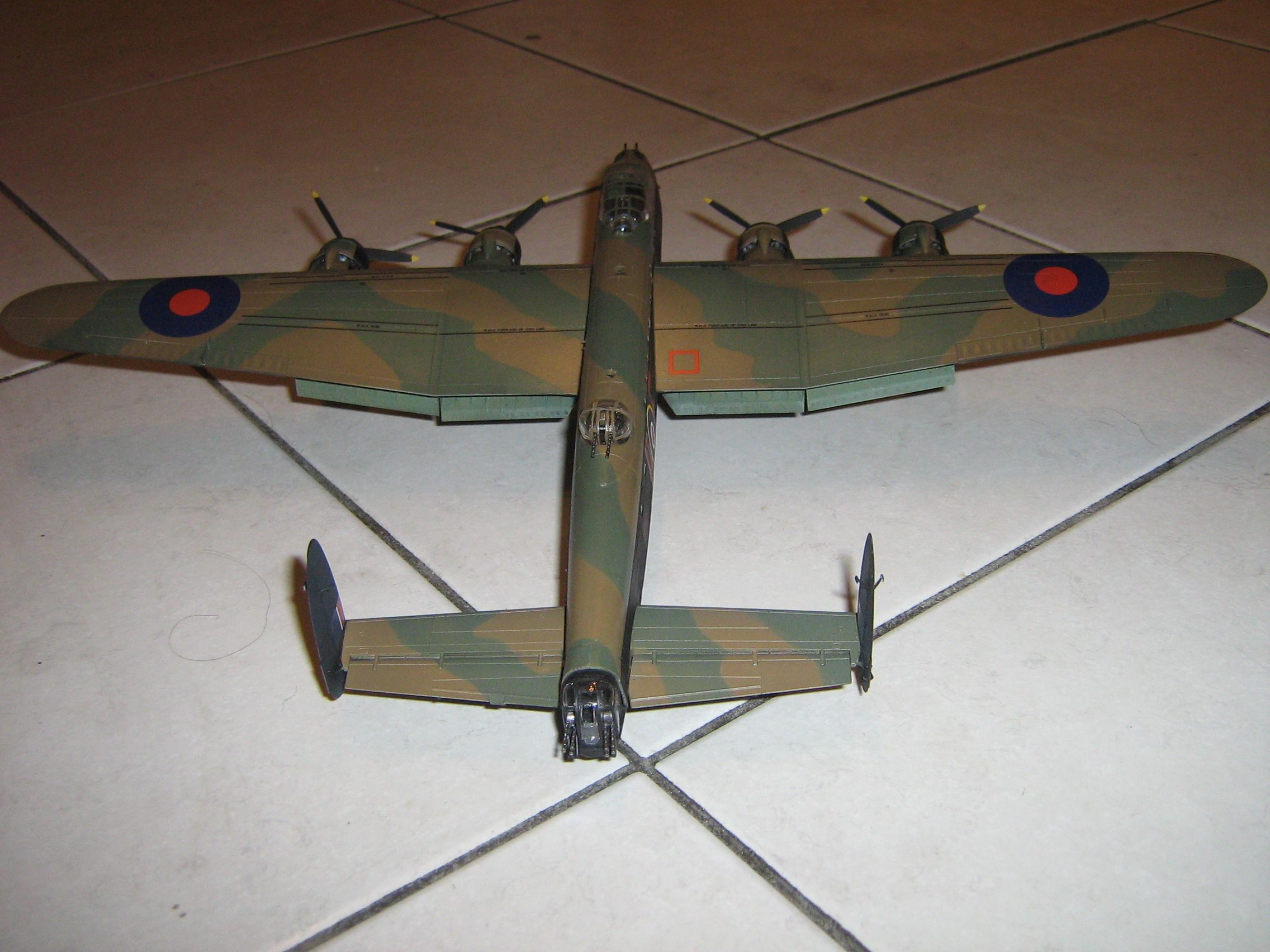 **** FINISHED: - 1/72 Avro Lancaster BII - Aircraft Nose Art GB.-finished-lancaster-3-jpg