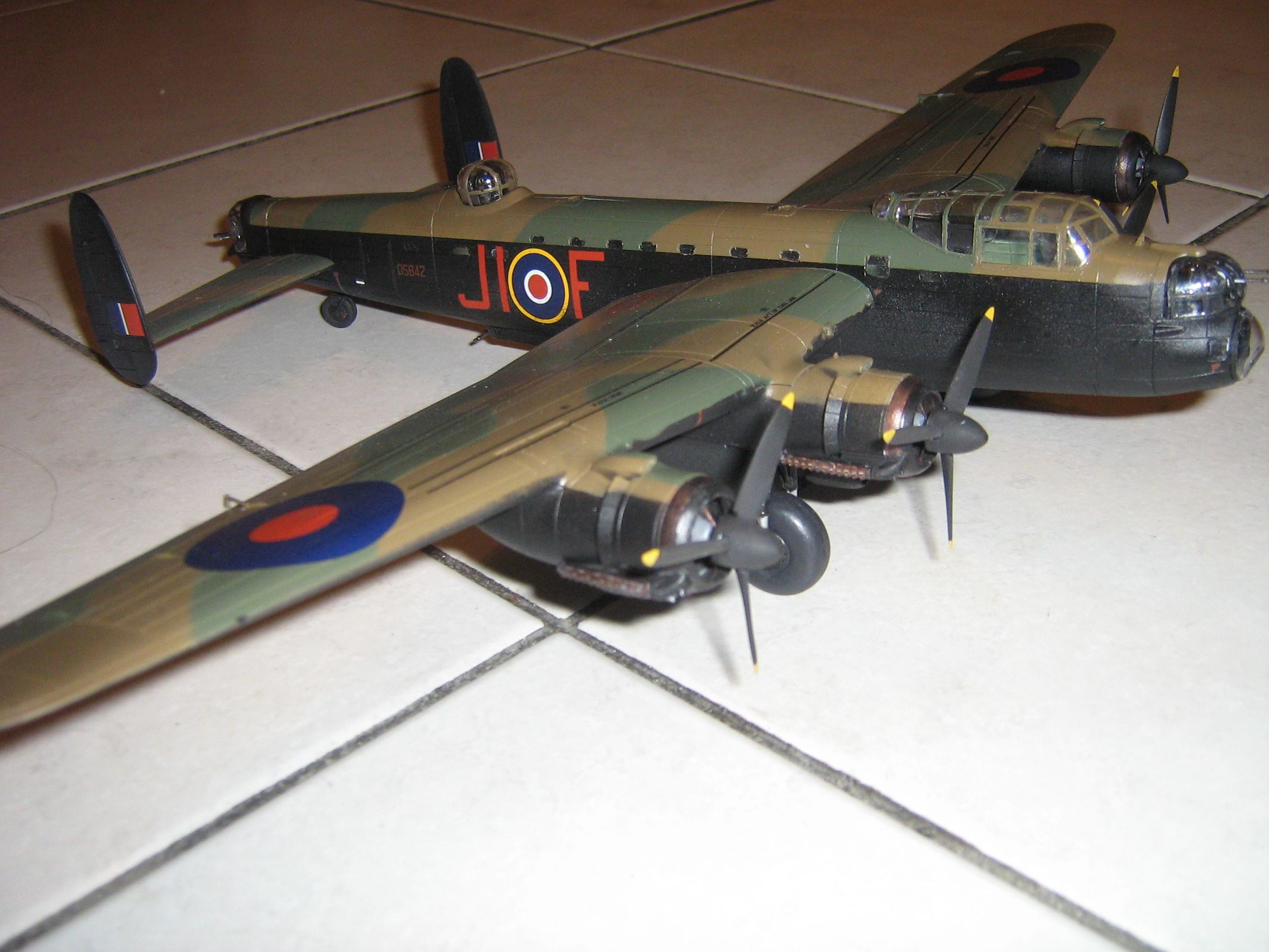**** FINISHED: - 1/72 Avro Lancaster BII - Aircraft Nose Art GB.-finished-lancaster-5-jpg