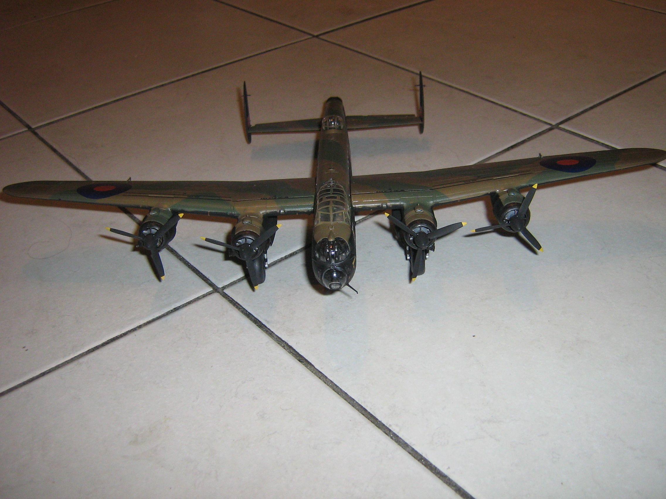**** FINISHED: - 1/72 Avro Lancaster BII - Aircraft Nose Art GB.-finished-lancaster-6-jpg