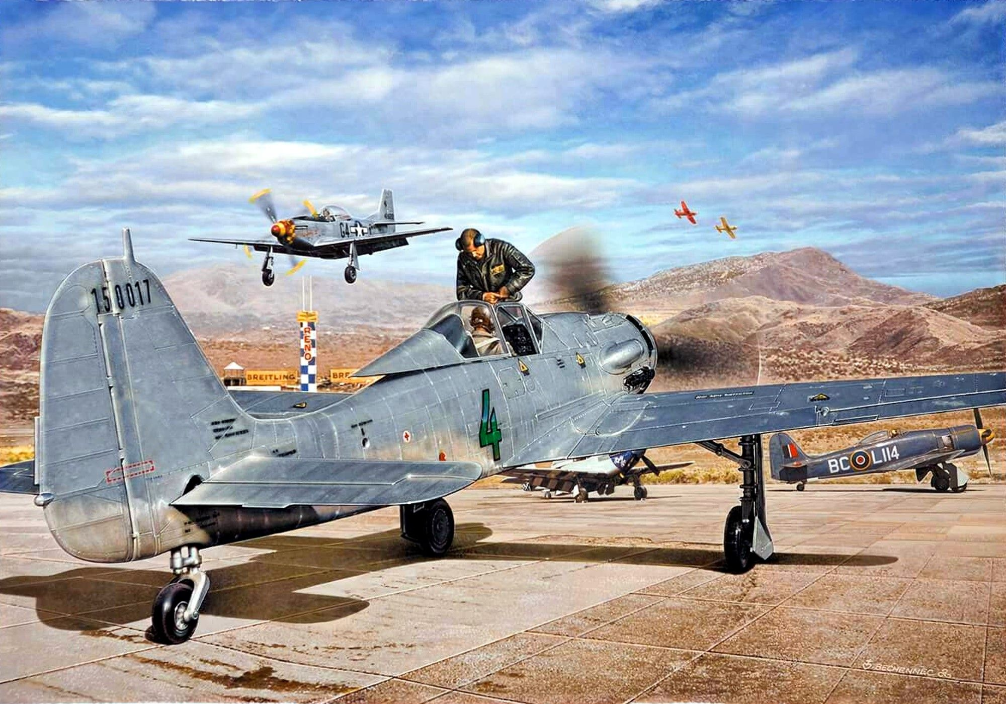 FW-190D Fighter and Fighter-Bomber - Luftwaffe