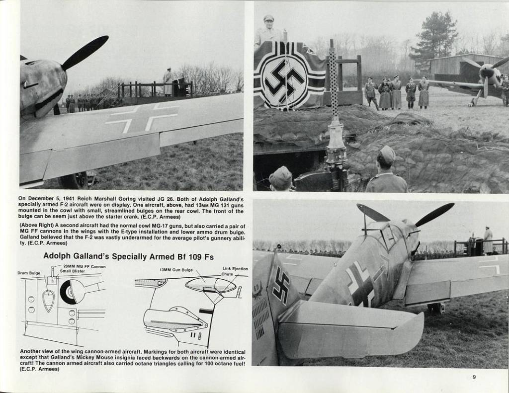 DONE: Bf109F-2/U 'Special' - Adolf Galland - Aircraft of the
