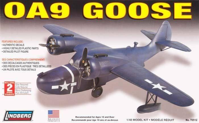 DONE: 1/48 Grumman OA-9 Goose - Seaplanes / Floatplanes of WWII