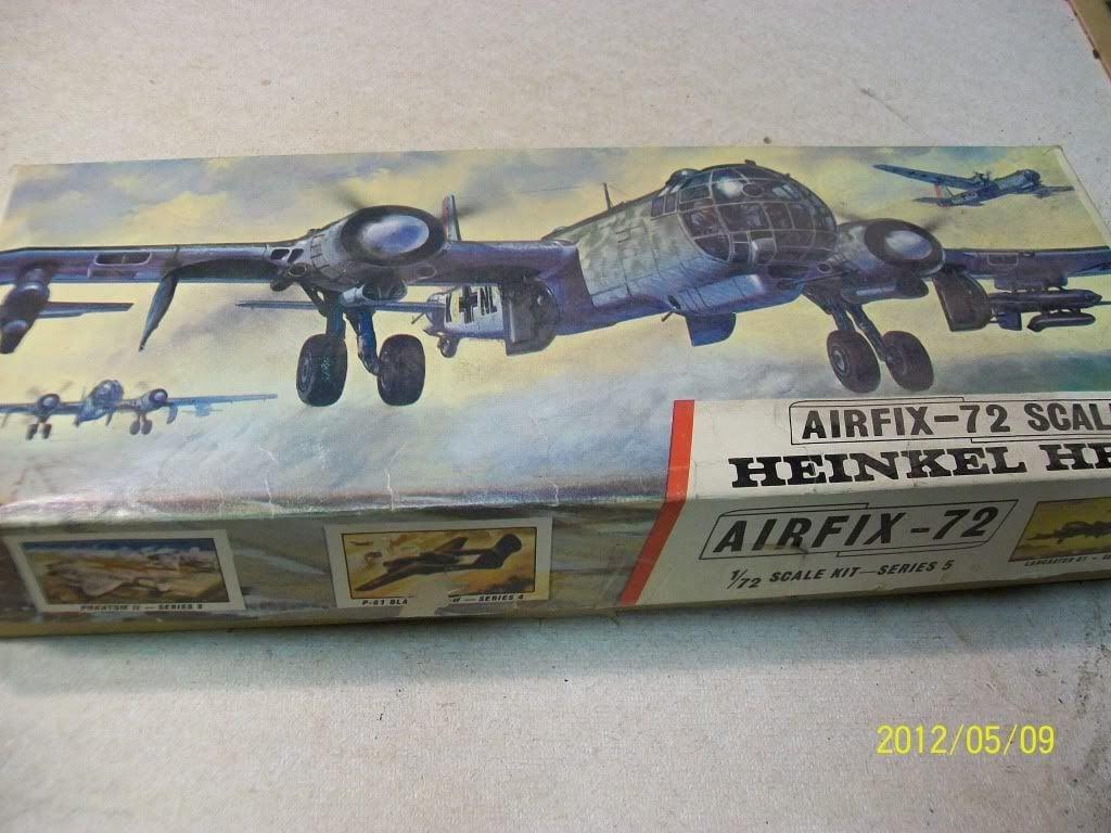 Airfix 1:72 scale He 177   Aircraft of World War II