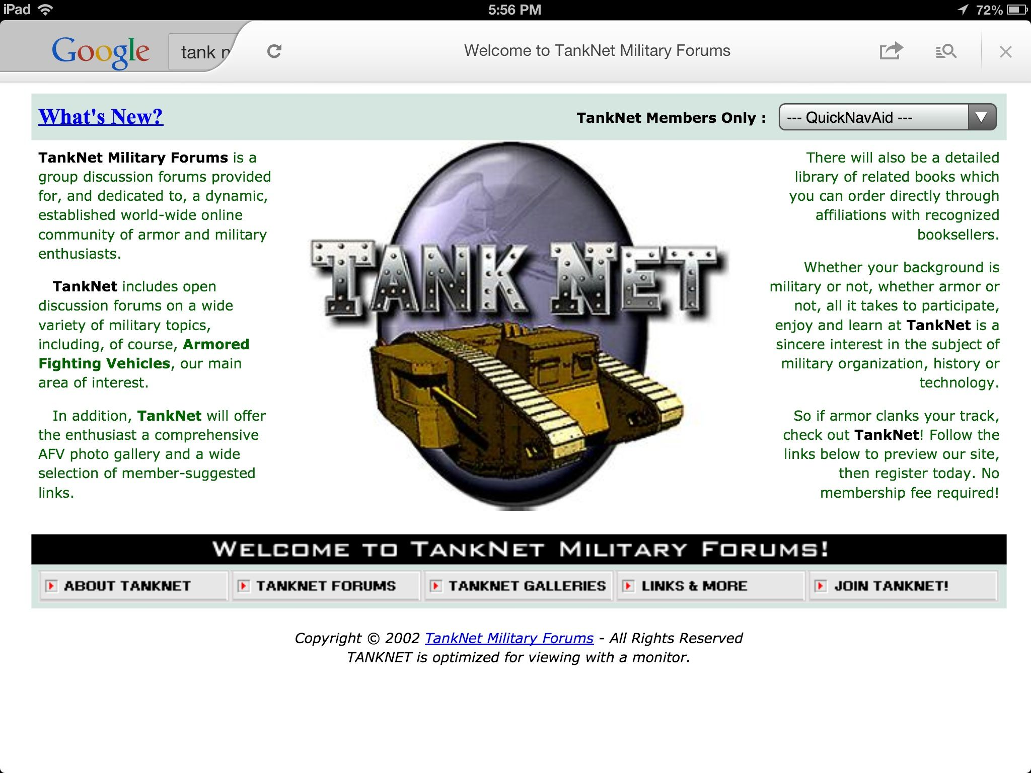 What happened to 'tank-net' forums? | Aircraft of World War