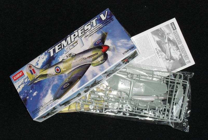 Academy 1/72 Tempest Mk V,  P.Clostermann - Aircraft Of The Aces GB-img_01.jpg