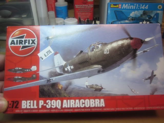 Dirk's Airfix Bell P-39Q Aircobra | Aircraft of World War II