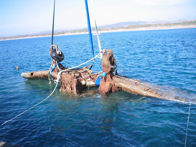 Greek Military Divers Raise Wreckage of German World War II Stuka Bomber From the Sea-ju87-jpg