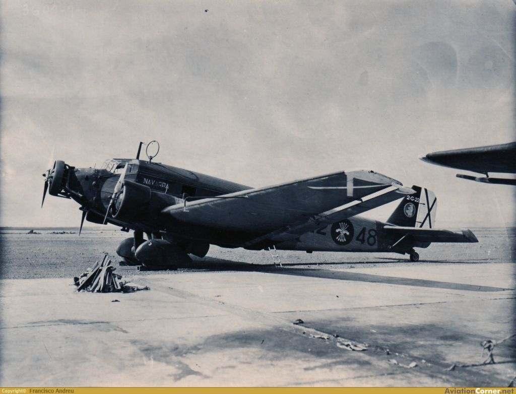 Spanish Civil War: Nationalist Air Force-junkers-ju-52-0012-jpg
