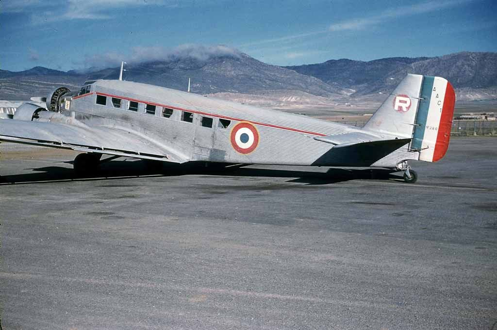 Armee de�l Air after the WWII: Colonial Conflicts-junkers-ju-52-0013.jpg