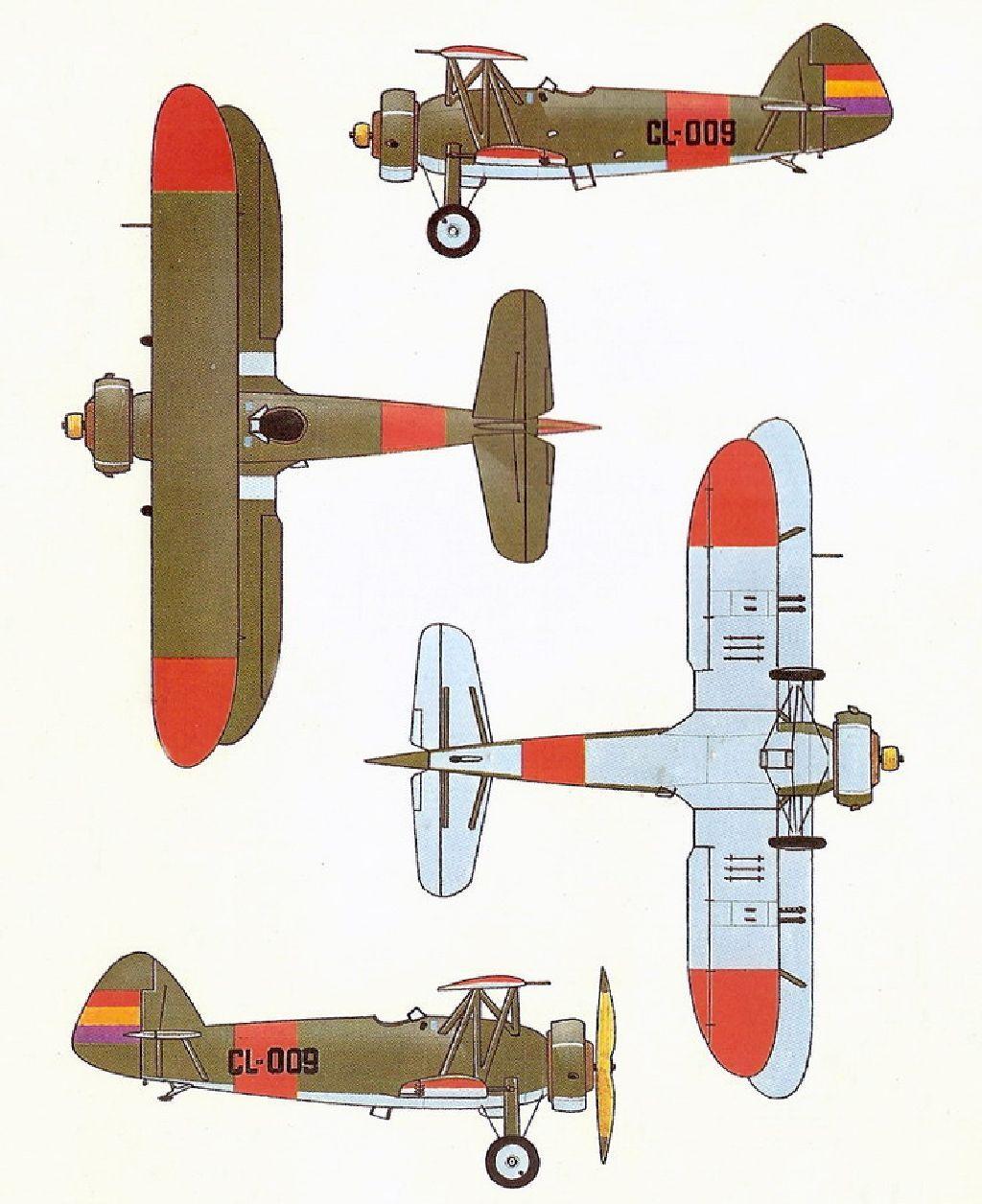 Spanish Civil War: Republican Air Force (FARE)   Page 3