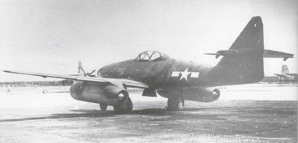 Captured Aircrafts: EEUU-messerschmitt-me-262-eeuu-007.jpg