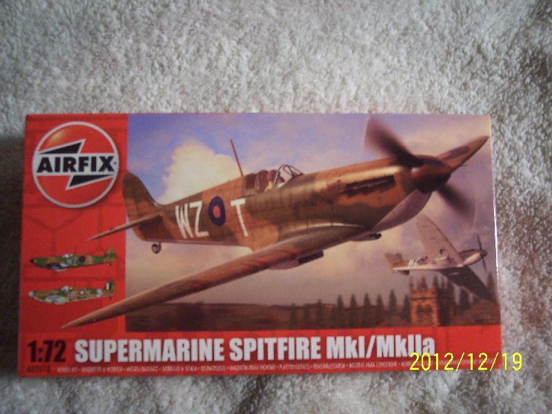 Airfix 172 Spitfire Mkimkiia Review And A Few Surprises