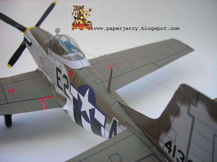 BF 109 Paper Model 1/33-51-modelart-4-jpg