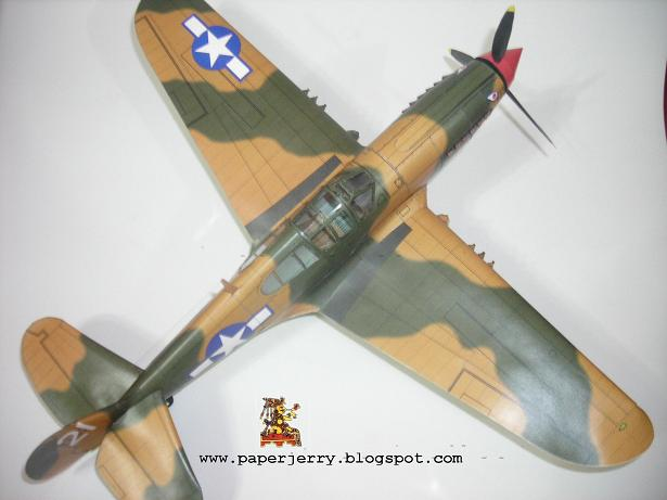 BF 109 Paper Model 1/33-p40-2-jpg