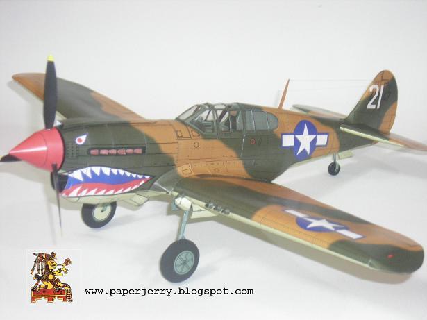 BF 109 Paper Model 1/33-p40-3-jpg