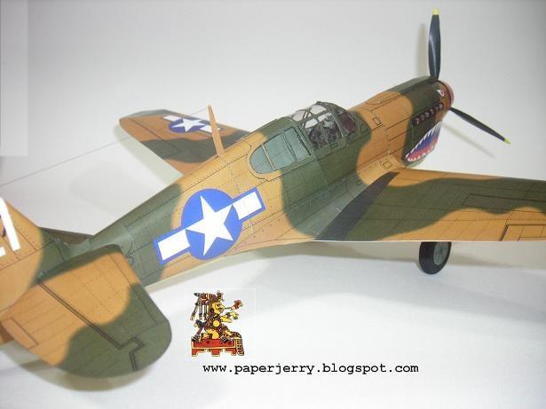 BF 109 Paper Model 1/33-p40-4-jpg