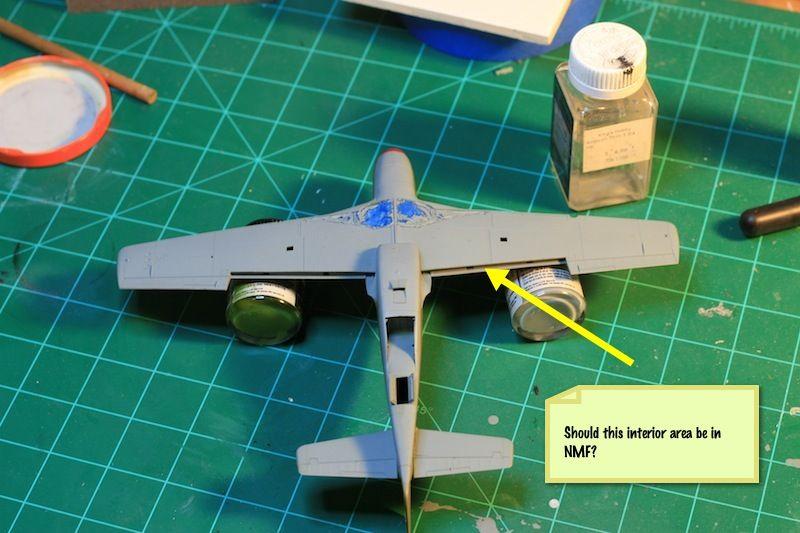 Tamiya 1/48 P-51B Build-painted-bottom-2.jpg