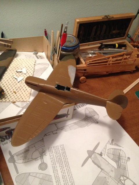 Spitfire Mk.1 painting..-photo-1-jpg